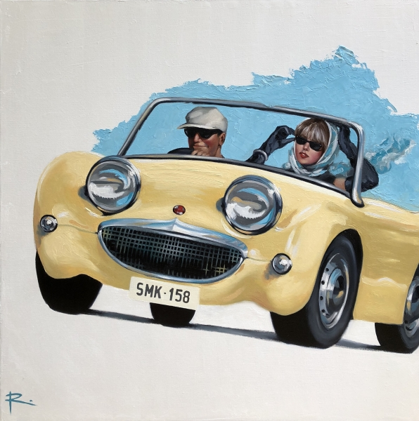 MURPHY feat. 1958 Austin Healey Bug Eye Sprite