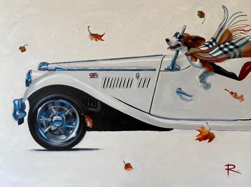 BARNEY feat. 1954 MG TF | SOLD
