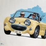 MURPHY feat. 1958 Austin Healey Bug Eye Sprite