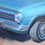 1964 EH Holden on Manly Beach (Detail)
