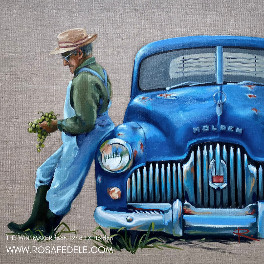 THE WINEMAKER feat. 1948 FX Holden | SOLD