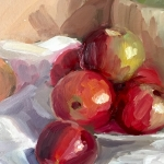 STILL LIFE WITH APPLES (Detail)