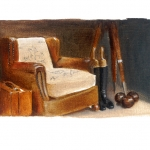 THE CHAIR IN BEADLES' WINDOW