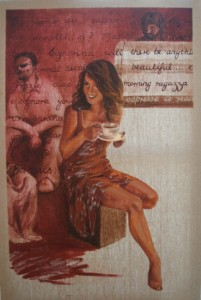 Balmain ... Coffee @ Bertonis 60.5x92cm Web