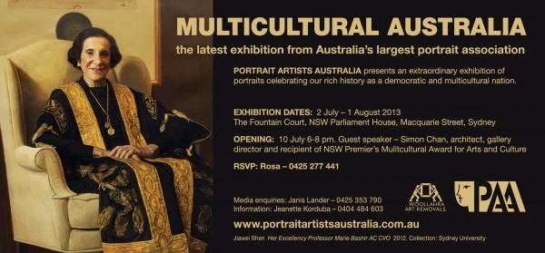 Multicultural Australia Invitation