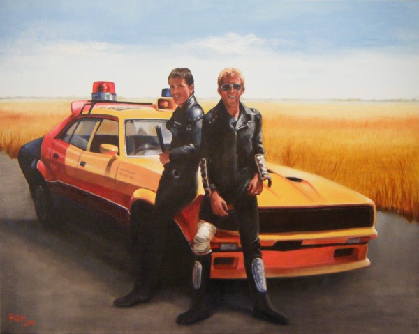 Mad Max and Goose 76 x 61cm Web