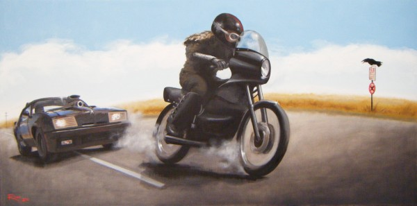 Mad Max and Toecutter Bike Chase Web
