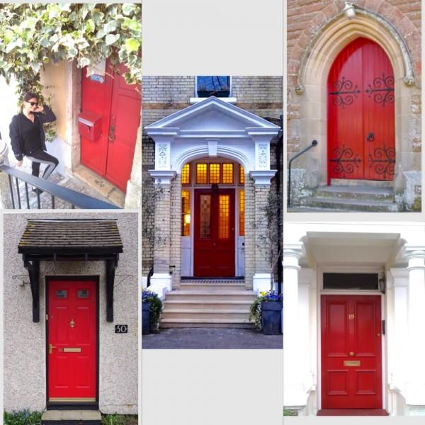 Red Door Collage