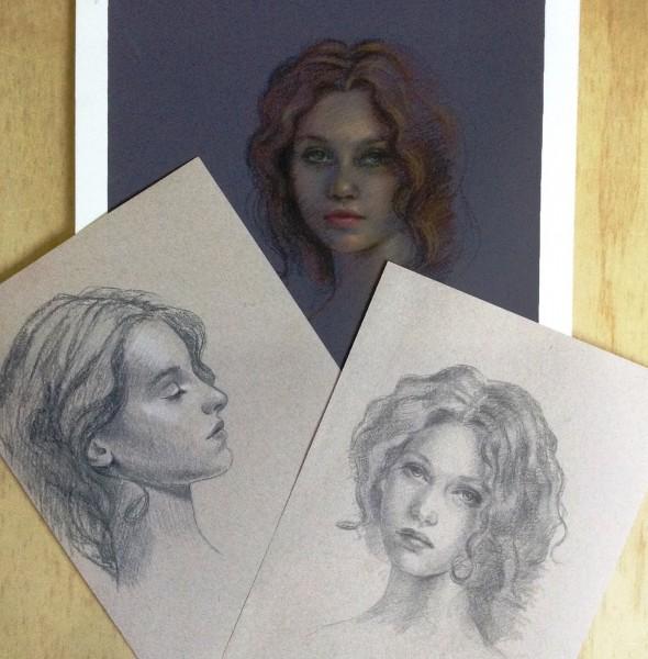 Claudia Sketches