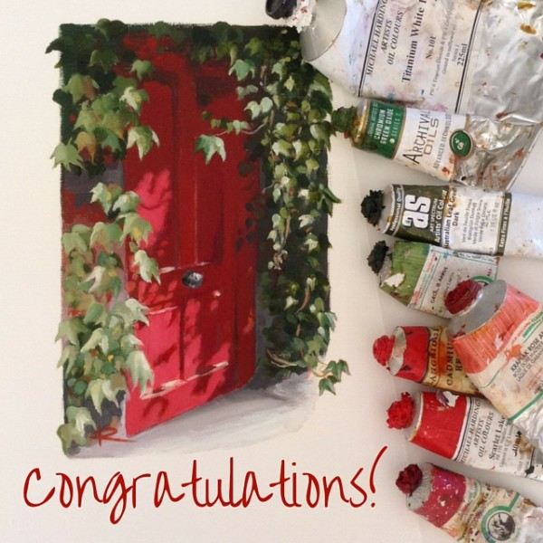 Congratulations! Red Door
