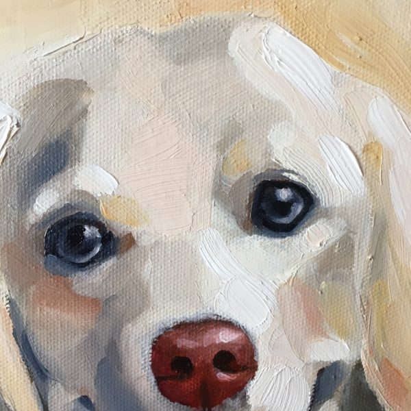 Am in love with painting doggies!